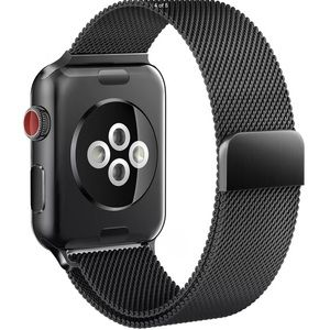 Accessories - NEW 42mm Apple Watch Band Milanese Loop - Black